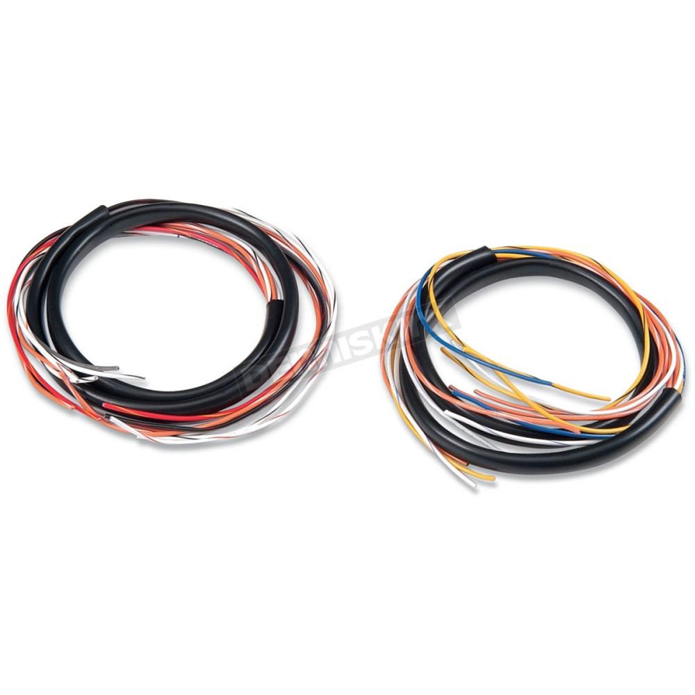 medium resolution of alloy art extended handlebar wiring harness 36 in sin 1