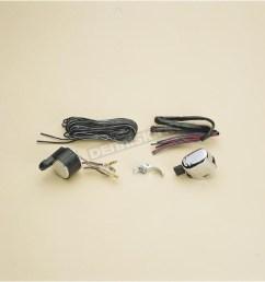 k s universal chrome turn signal wiring kit 25 9001 dirt bike universal chrome turn signal wiring kit 259001 atv dirt bike [ 1200 x 1200 Pixel ]