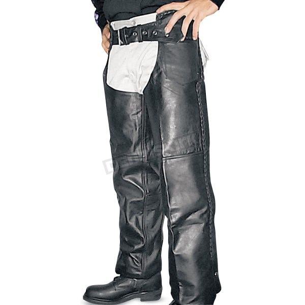 Hot Leathers Lined Unisex Chaps - Chm1003l Harley