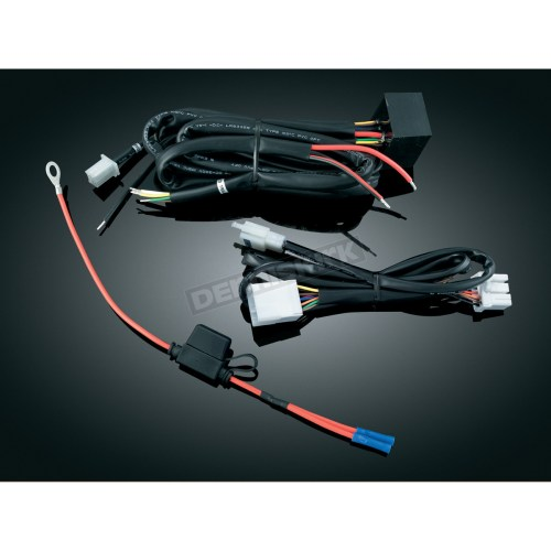 small resolution of kuryakyn plug and play trailer wiring and relay harness 7672
