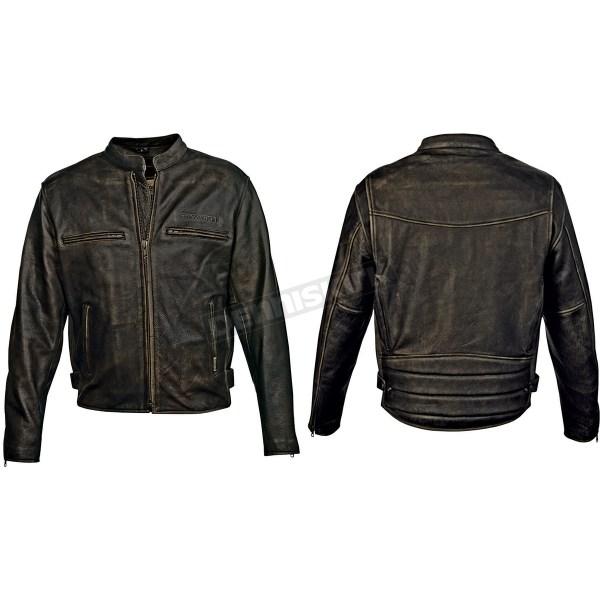 Crazy Horse Leather Jacket