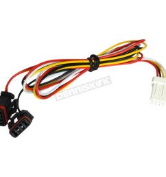 powermadd star series handguard led turn signal plug n play wire harness 34292 [ 1200 x 1200 Pixel ]