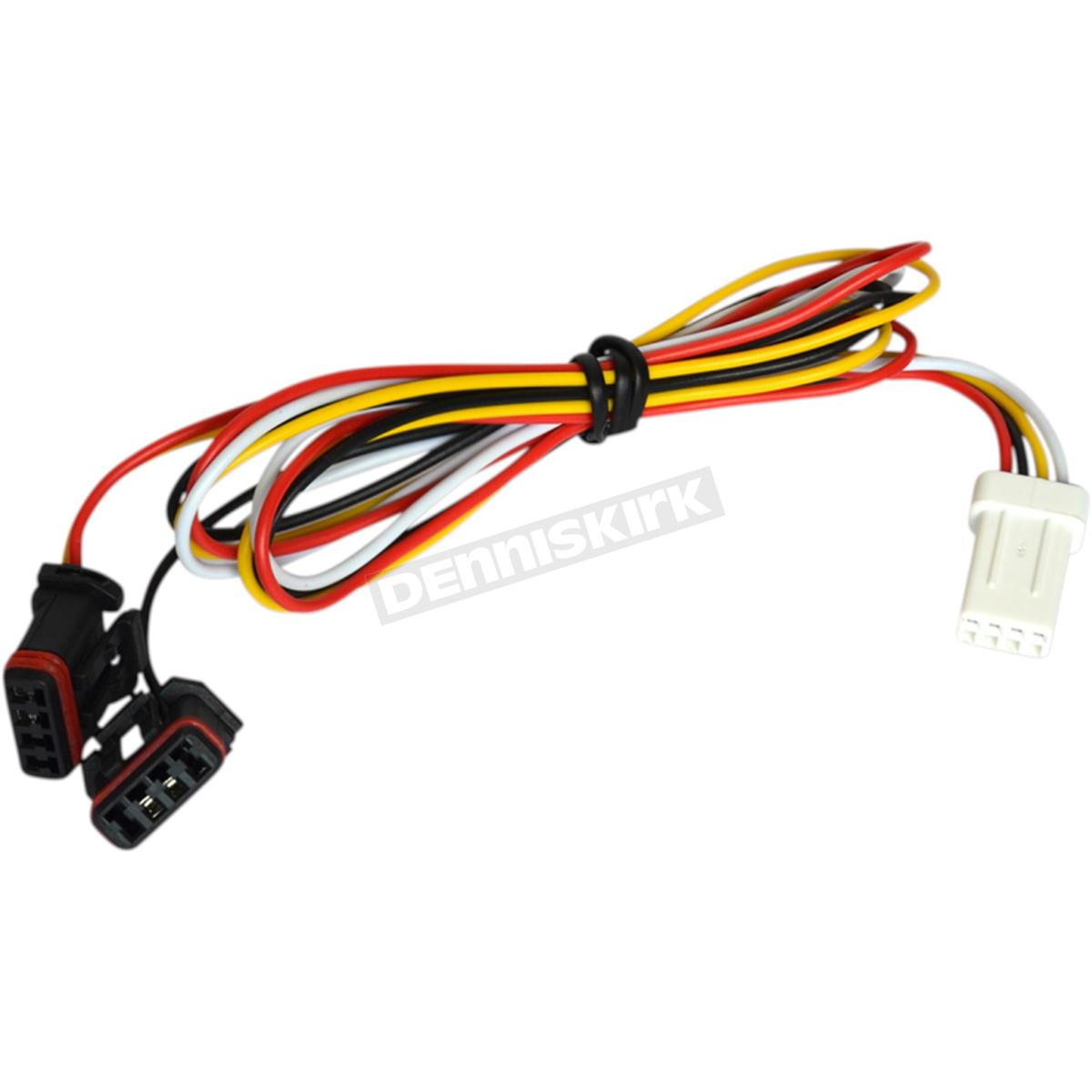 hight resolution of powermadd star series handguard led turn signal plug n play wire harness 34292