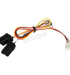 powermadd star series handguard led turn signal plug n play wire harness 34293 [ 1200 x 1200 Pixel ]