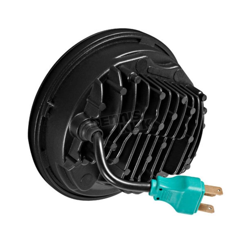 medium resolution of v2 led headlight hw195023 black 5 75 in v2 led headlight hw195023
