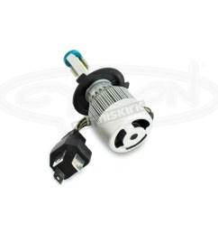 standard series h4 led headlight bulb abh4 c6k [ 1200 x 1200 Pixel ]