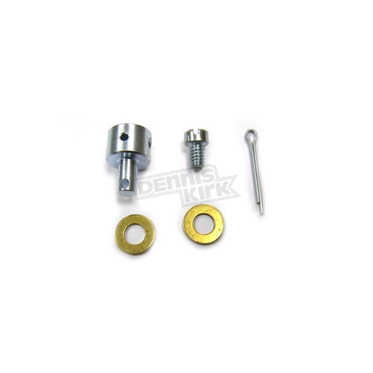 V-Twin Manufacturing Carburetor Cable Block Kit for HD EL