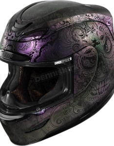 Icon purple airmada chantilly opal helmet also motorcycle rh denniskirk