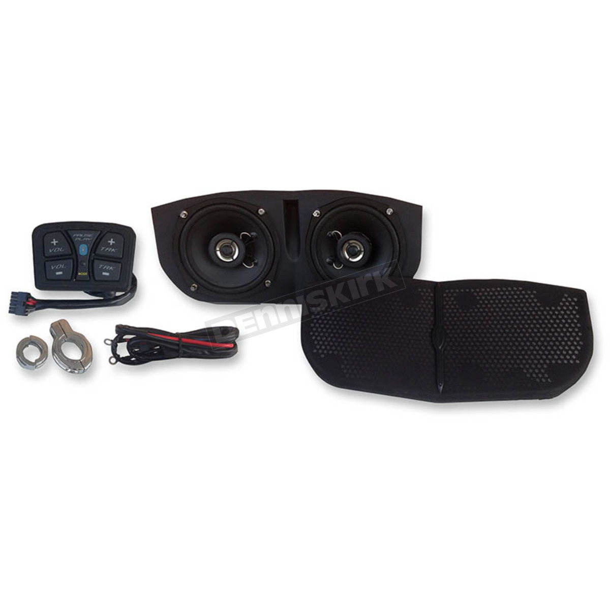 hight resolution of hogtunes metrix audio bluetooth enabled speaker system for memphis shades batwing fairings msa1 bt
