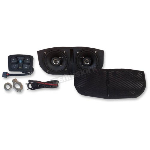 small resolution of hogtunes metrix audio bluetooth enabled speaker system for memphis shades batwing fairings msa1 bt