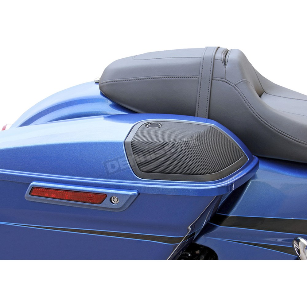 medium resolution of  saddlebag lid kit w rokker xxr speakers and plug and play wiring harness hsbl