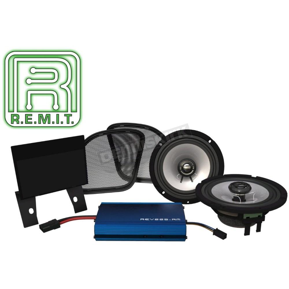 medium resolution of hogtunes rev series 225 amp speaker kit 225 rg kit rm