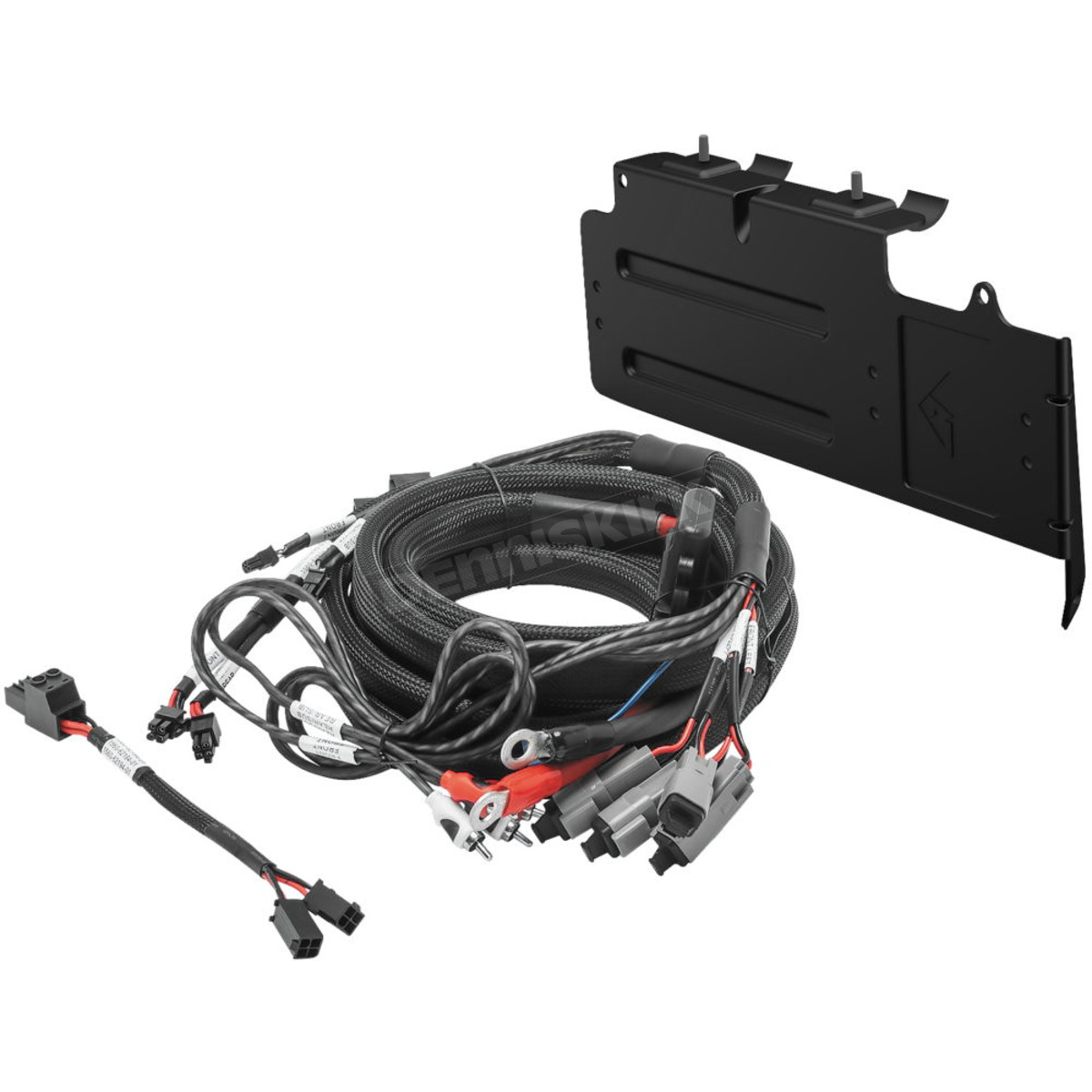 hight resolution of rockford fosgate 4 awg wire harness rfx3 k4 dennis kirk nissan frontier rockford fosgate speaker diagram rockford fosgate wiring harness