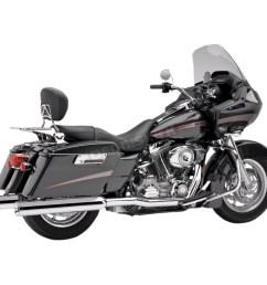 cobra true duals header system 6250 harley davidson motorcycle dennis kirk [ 1200 x 1200 Pixel ]