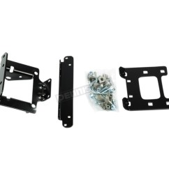 warn winch mount kit 96939 [ 1200 x 1200 Pixel ]