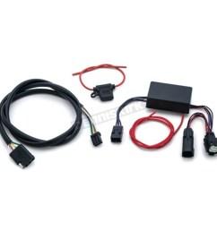 kuryakyn trailer wiring and relay harness 2599 [ 1200 x 1200 Pixel ]