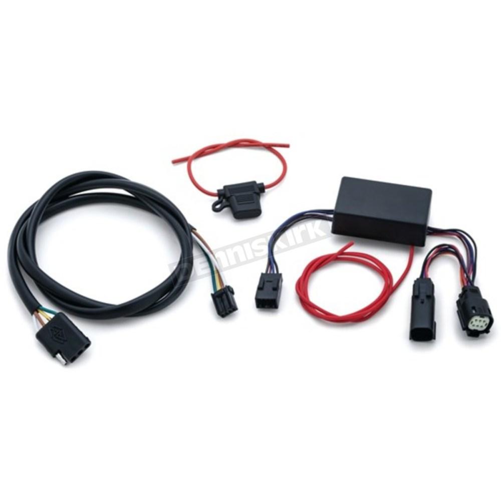 medium resolution of kuryakyn trailer wiring and relay harness 2599