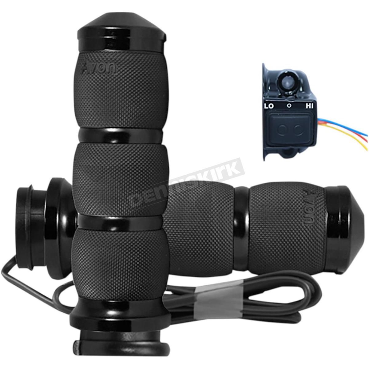 hight resolution of black air cushion anodized heated grips air 90 an fl ht