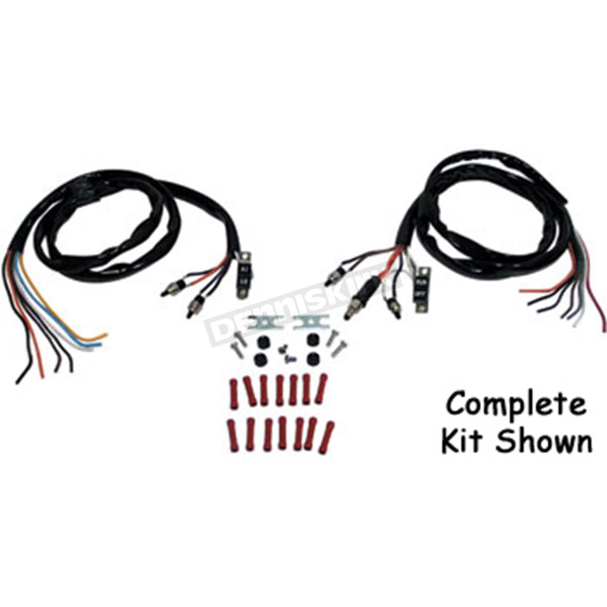 hight resolution of v factor handlebar wiring harness kit 12036