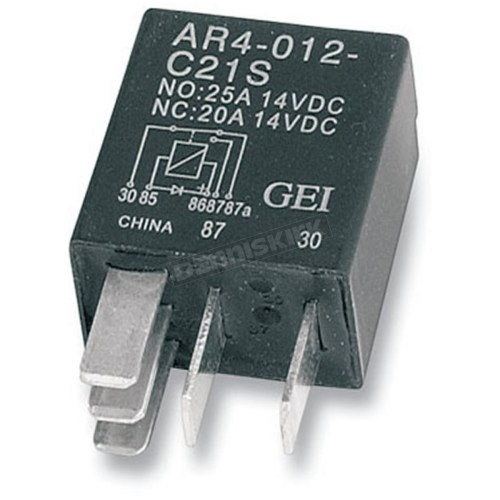 small resolution of drag specialties micro starter relay ds 325849