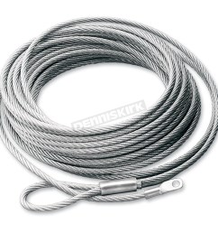 replacement wire rope for atv winch w steel drum 15236  [ 1200 x 1200 Pixel ]