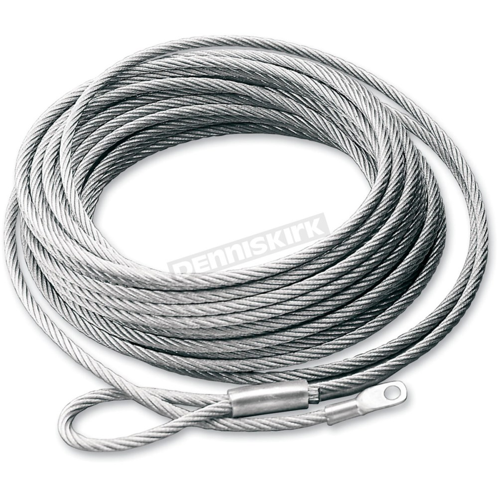 medium resolution of replacement wire rope for atv winch w steel drum 15236