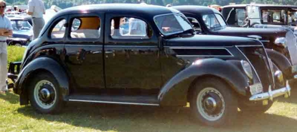 Dean Moriarty 1937 Ford