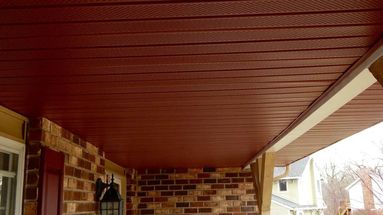 Aluminum Soffit For Porch Ceiling