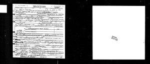 Nora O Partridge death card