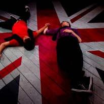Fading Away on the Union Jack