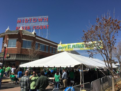 The McNellie's Block Party in Midtown