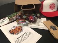 Inside the swag bag for Frack Fest