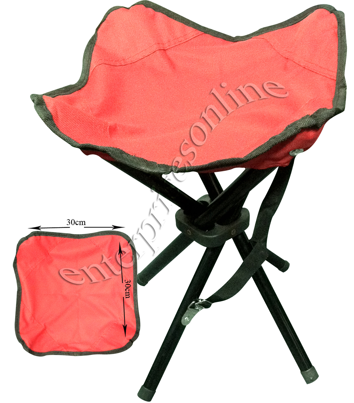 folding chair feet best back support for office singapore new portable 4 camping stool seat 3