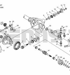 dana 50 front ford f250 f350 1999 to 2002 f350 parts diagram  [ 1178 x 850 Pixel ]