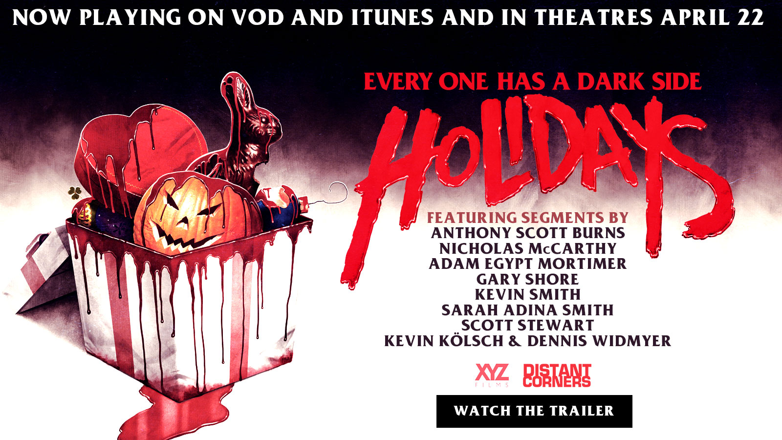 Holidays (2015) - Best Christmas Horror Movies