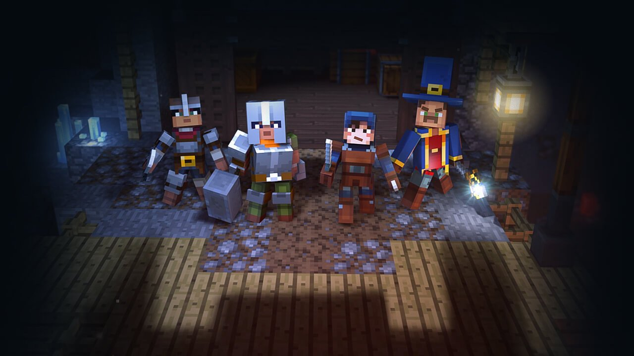 Minecraft Dungeons Trailer And Release Date Den Of Geek
