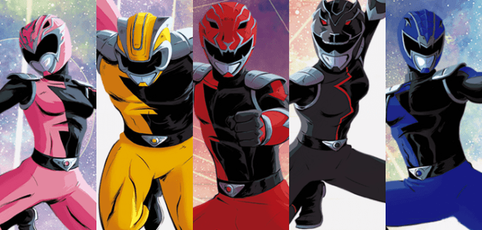 Power Rangers: A Guide to the Multiverse - Den of Geek