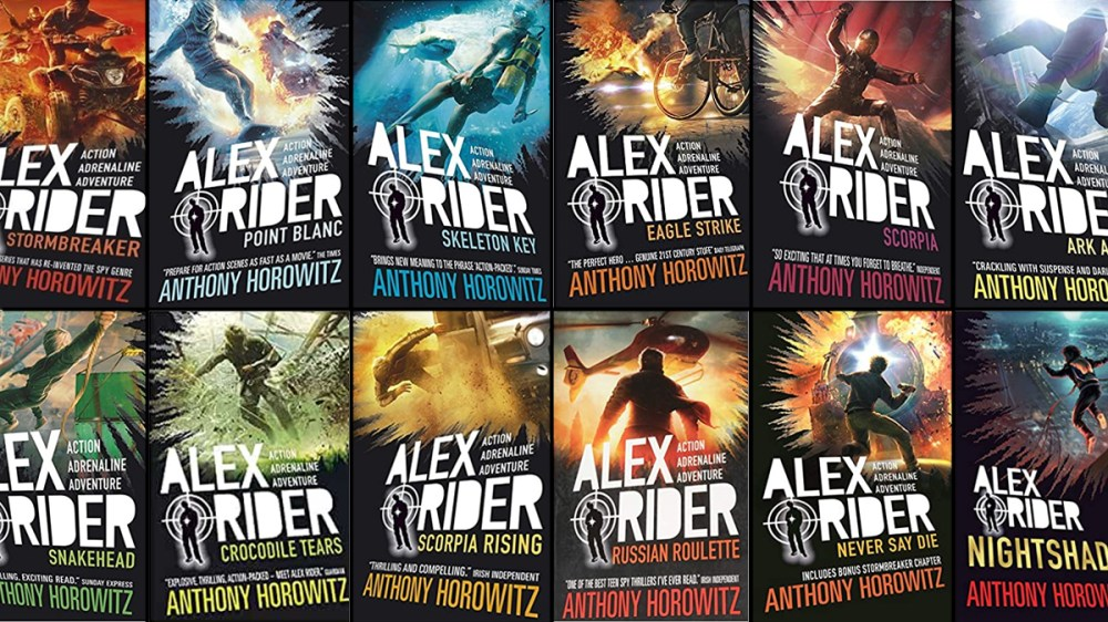 Alex Rider Books: Revisiting the Geeky Gadgets and Cool Spy Moments | Den  of Geek