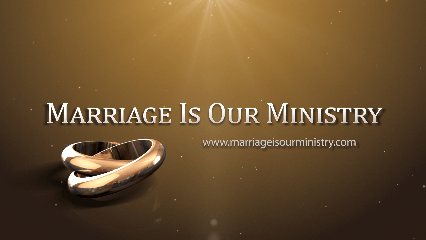 Justin's Marriage Is Our Ministry Ad
