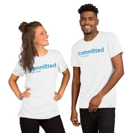 Committed Short-Sleeve Unisex T-Shirt
