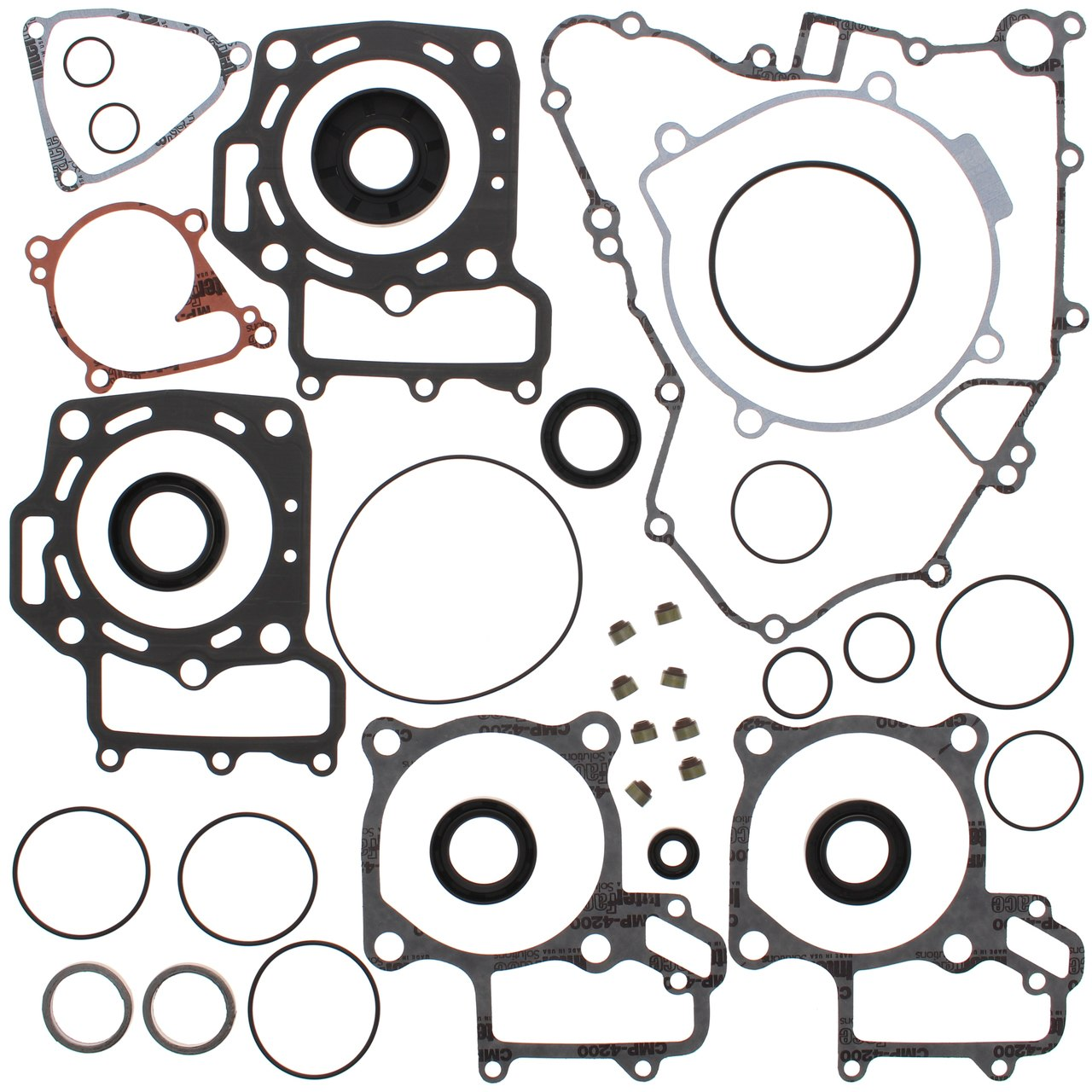 Complete Gasket Kit w/ Oil Seals Kawasaki KFX 700 V-Force