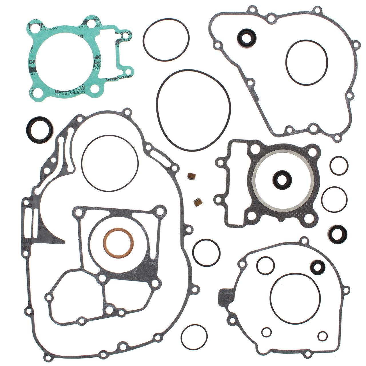 Complete Gasket Kit w/ Oil Seals Kawasaki KLF250 Bayou