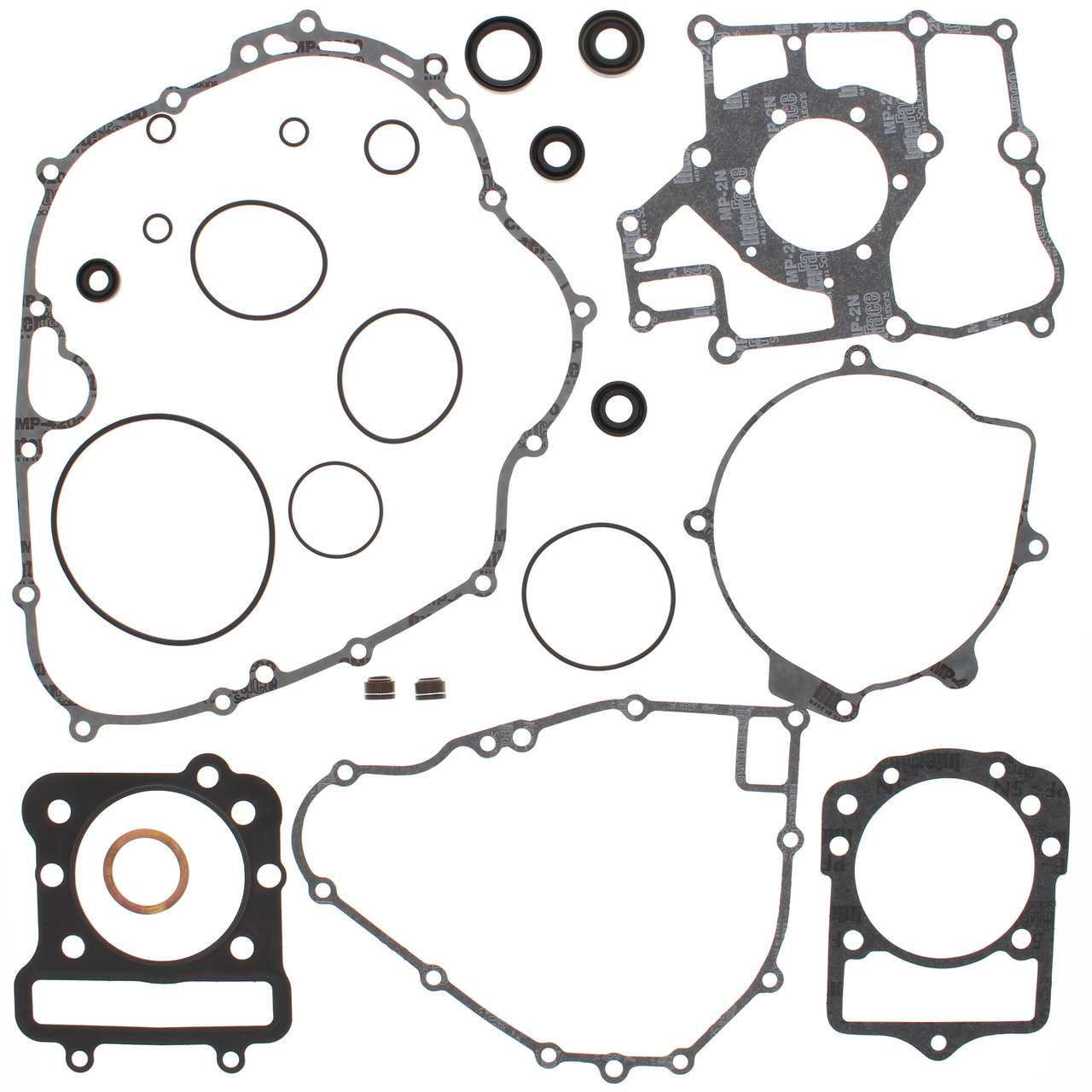Complete Gasket Kit W Oil Seals Kawasaki Klf300b Bayou