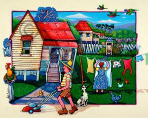 Four-Old-Queenslanders-giclee
