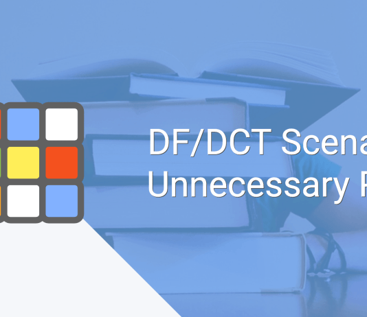 DF/DCT Scenario: Unnecessary Pain