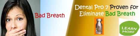 Dental Pro 7 vs Bad Breath