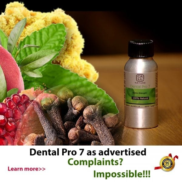 Dental Pro 7 as Advertised in Afghanistan