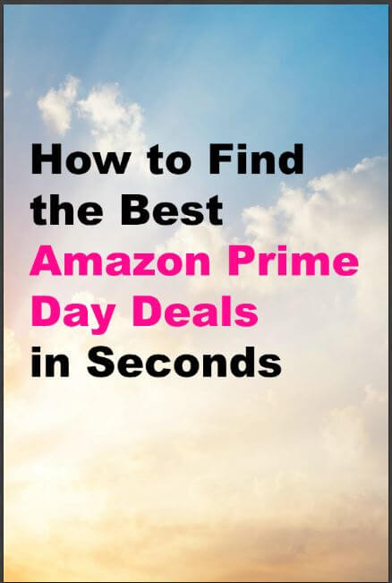 How to find Amazon Prime Day Deals