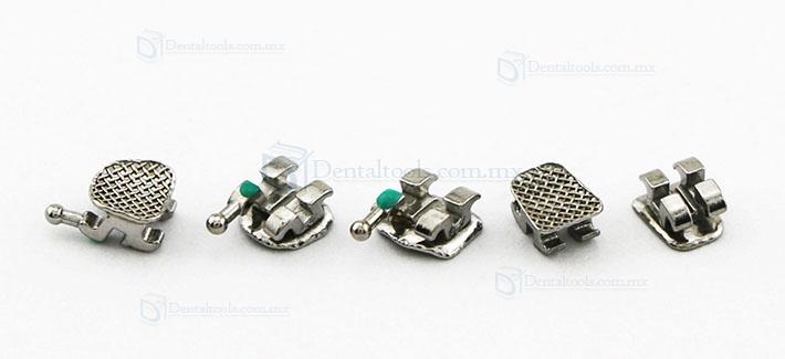 5 Paquetes Brackets Ortodoncia Brackets Metlicos Mini