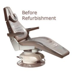 Vintage Dentist Chair Stacking Covers Wedding Dental Chairs Refurbished Better Than New Dentifab The Focal Point Of Your Surgery